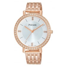 Pulsar PH8160X1 Women's Stone Set Wristwatch