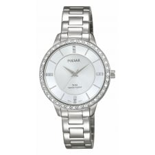 Pulsar PH8213X1 Women's Classic Stone Set Wristwatch
