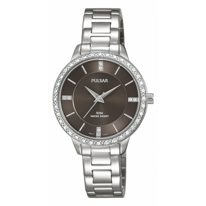 Pulsar PH8215X1 Women's Stone Set Wristwatch