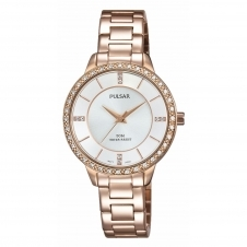 Pulsar PH8220X1 Women's Classic Stone Set Wristwatch