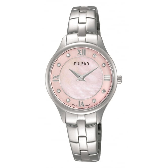 Pulsar PM2197X1 Women's Classic Stone Set Wristwatch