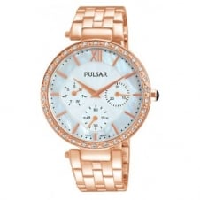Pulsar PP6214X1 Women's Stone Set Wristwatch