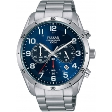 Pulsar PT3829X1 Men's Sports Chronograph Wristwatch