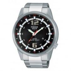 Pulsar PX3085X1 Men's Stainless Steel Solar Powered Sports Wristwatch