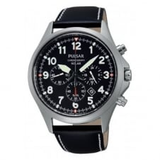 Pulsar PX5007X1 Men's Solar Chronograph Wristwatch