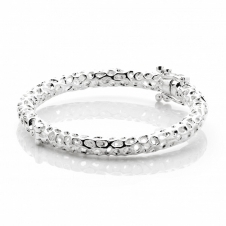 Rachel Galley A205-SV-MD Women's Allegro Baby Bangle