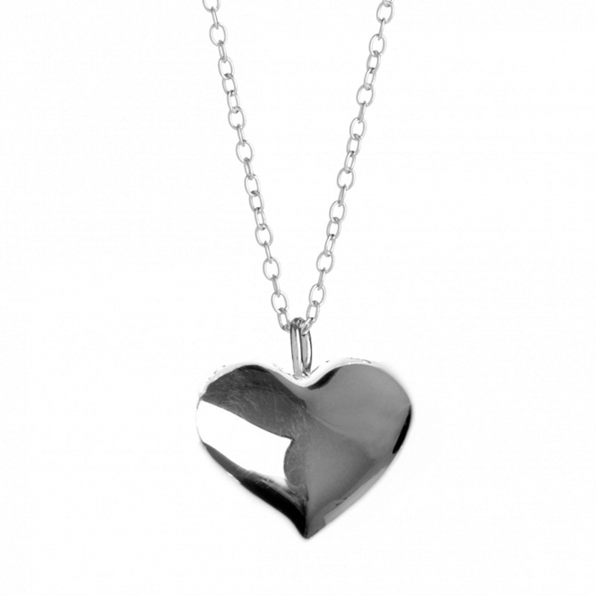 Rachel Galley H103-SV Women's Amore Heart Plain Pendant