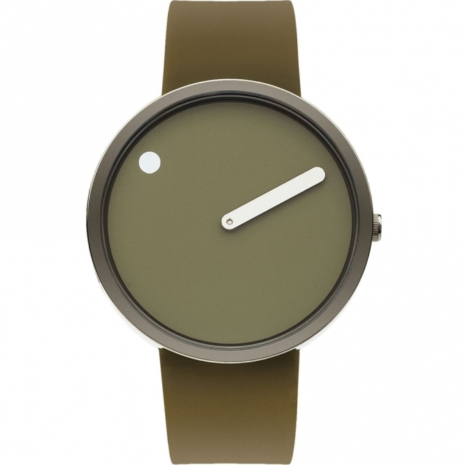 Rosendahl 43357 Picto Army Green Wristwatch