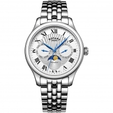 Rotary GB05065-01 Men's Moonphase Wristwatch