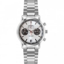 Rotary GB90130-06 Men's Stainless Steel Chronograph Wristwatch