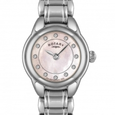 Rotary LB02601-07 Ladies' Stainless Steel Bracelet Wristwatch