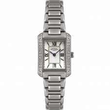 Rotary LB02650-41 Ladies' Stainless Steel Bracelet Wristwatch