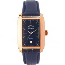 Rotary LE90014-05 Gents Blue Dial Wristwatch