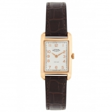 Rotary LS02699-01 Women's' Leather Strap Wristwatch