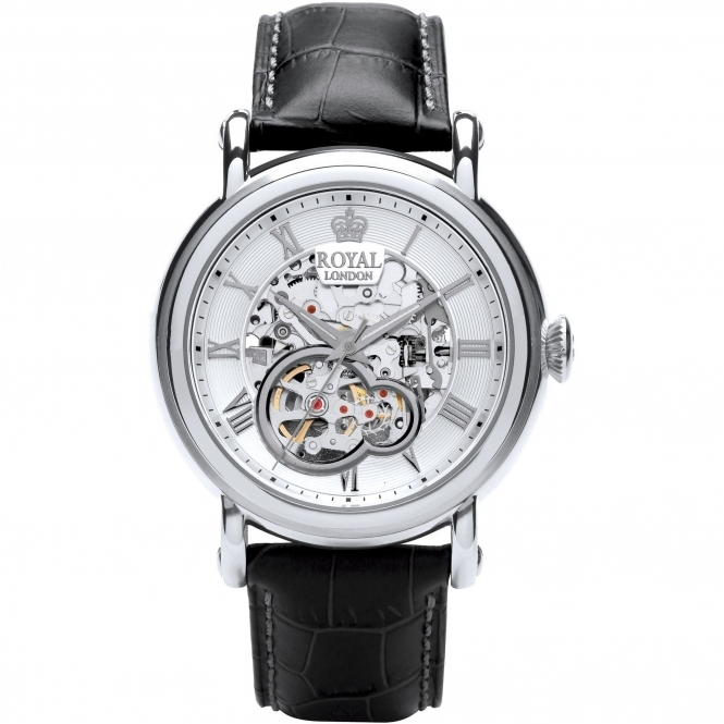 Royal London 41300-01 Men's Automatic Skeleton Wristwatch