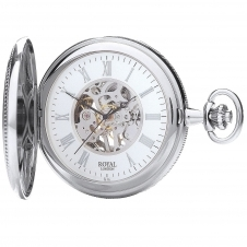 Royal London 90029-01 Double Opening Pocket Watch