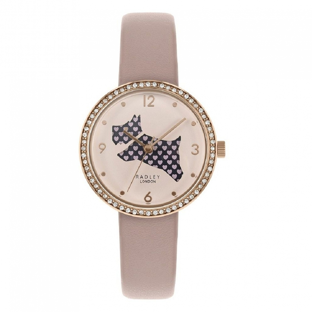 Radley RY2806 Women's Love Is In The Air Pink Leather Strap Wrist