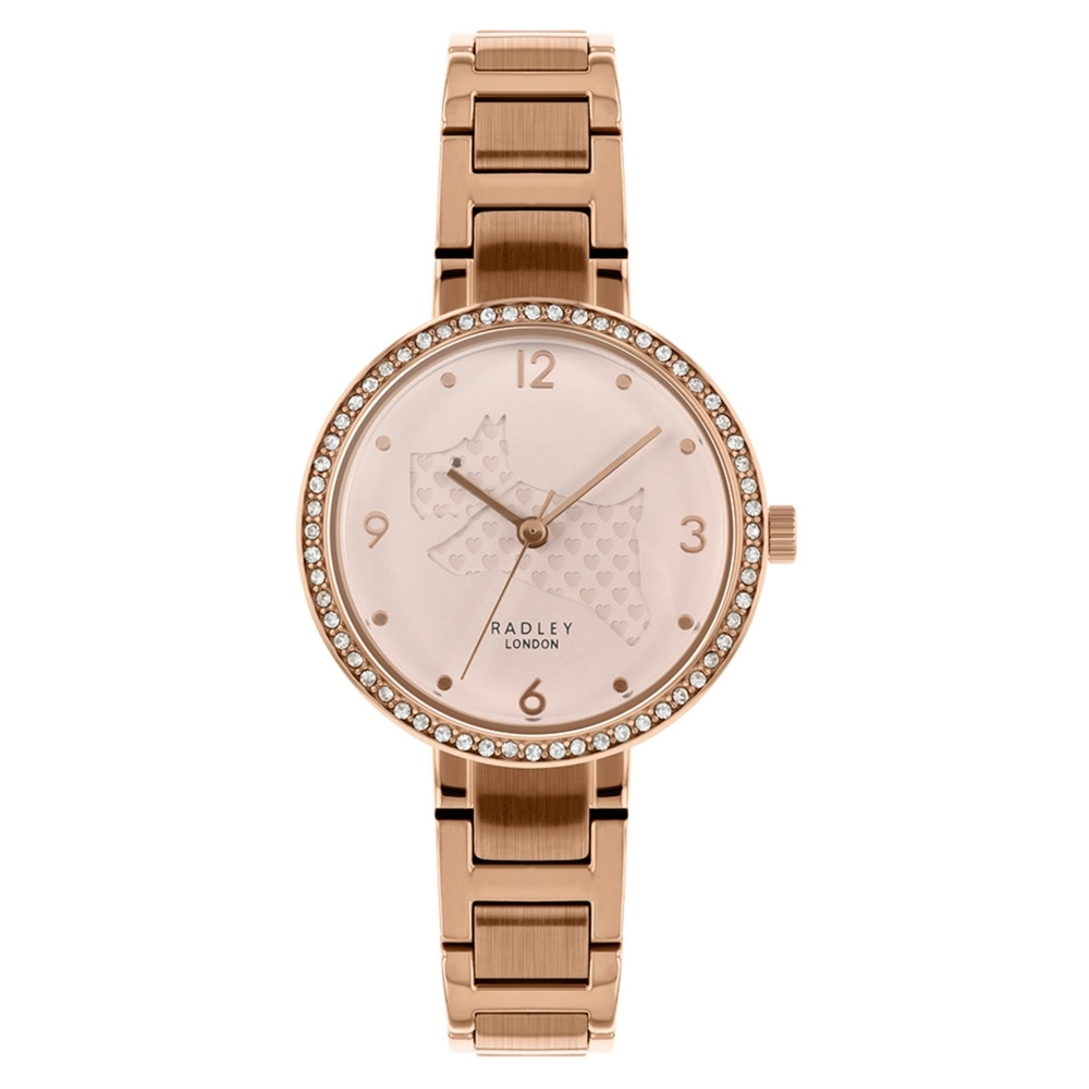 Radley RY4394 Women's Love Is In The Air Rose Gold Tone Wristwatc