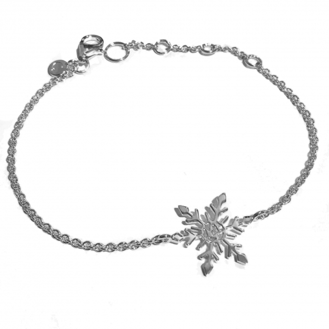 SF200-SV LIMITED EDITION Snowflake Bracelet