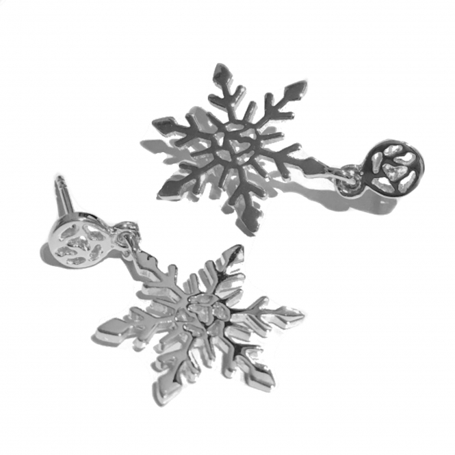 SF400-SV LIMITED EDITION Snowflake Earrings