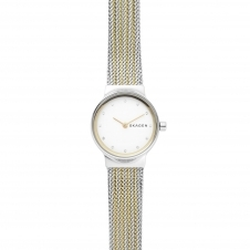 Skagen SKW2698 Freja Two-Tone Steel-Mesh Wristwatch