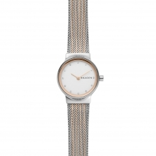 Skagen SKW2699 Freja Two-Tone Steel-Mesh Wristwatch