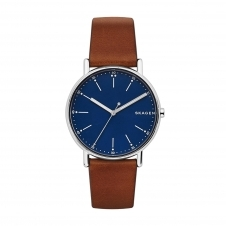 Skagen SKW6355 Signatur Brown Leather Wristwatch