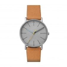 Skagen SKW6373 Signatur Tan Leather Wristwatch