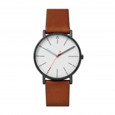 Skagen SKW6374 Signatur Brown Leather Wristwatch