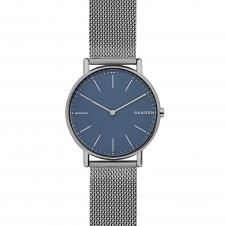 Skagen SKW6420 Signatur Slim Titanium and Steel-Mesh Wristwatch