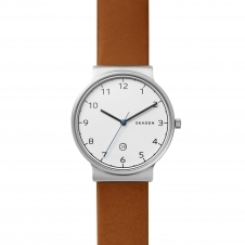 Skagen SKW6433 Ancher Cognac Leather Wristwatch
