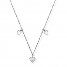 ChloBo SNTH419 Women's Graceful Heart Necklace