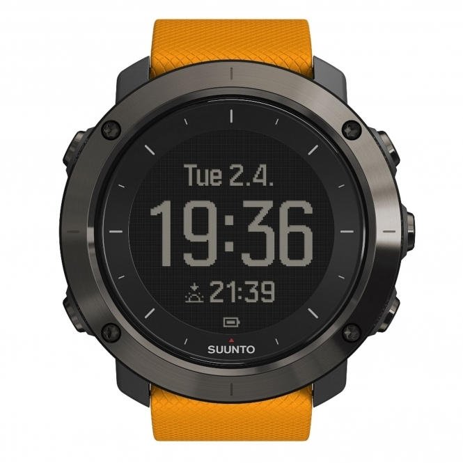 Suunto SS021844000 Traverse Amber Wristwatch