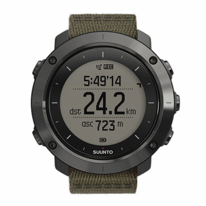 Suunto SS022293000 Traverse Slate Wristwatch