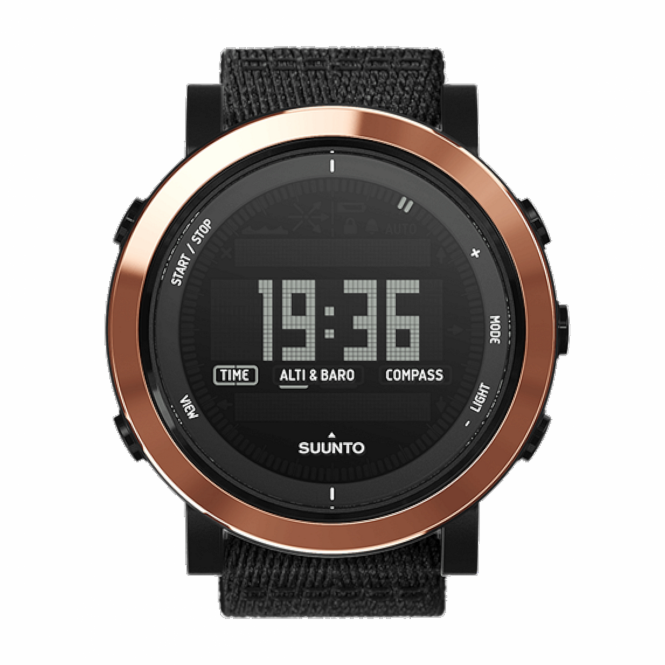 Suunto SS022440000 Essential Ceramic Copper Black TX