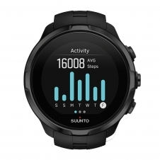 Suunto SS022662000 Spartan Sport All Black Wrist (HR) Wristwatch