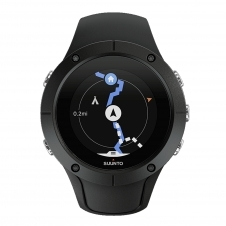 Suunto SS022668000 Spartan Trainer Black Wrist (HR) Wristwatch