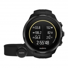 Suunto SS023364000 Spartan Sport Wrist All Black (HR) With Belt