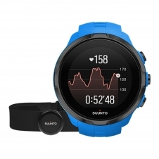 Suunto SS023365000 Spartan Sport Wrist (HR) With Belt Blue