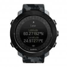 Suunto SS023446000 Traverse Alpha Concrete Wristwatch