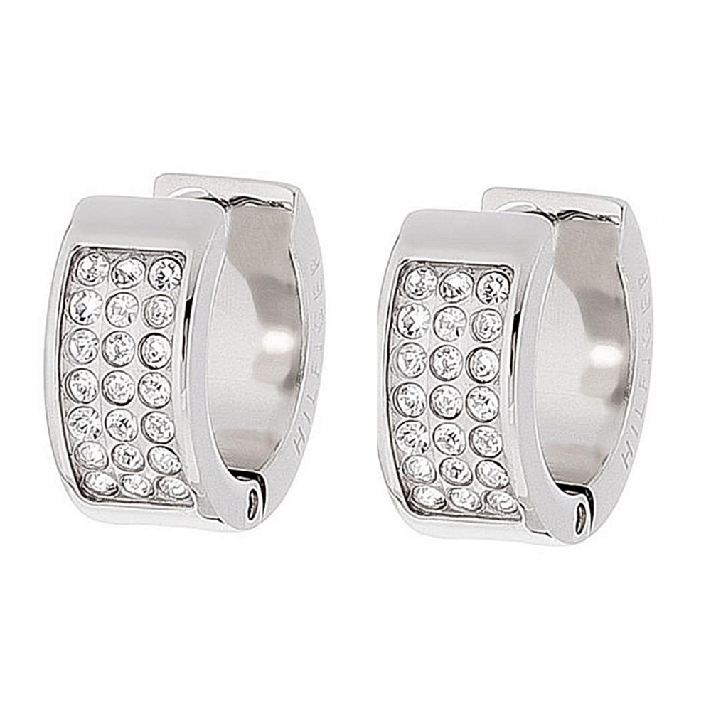 76ca925b8 Tommy Hilfiger Tommy Hilfiger 2700572 Creole Silver Tone Earrings