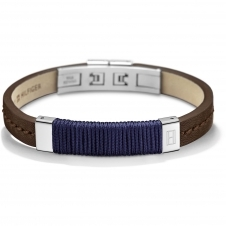 Tommy Hilfiger 2700765 Brown Leather Bracelet