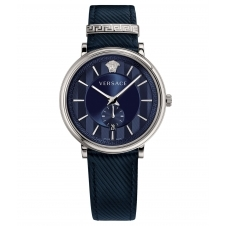 Versace VBQ010017 Men's Blue Manifesto Wristwatch
