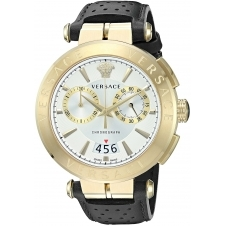 Versace VBR020017 Men's Aion Manifesto Edition Wristwatch