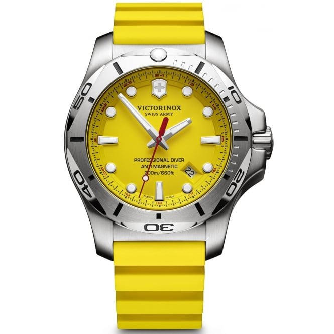 Victorinox 241735 Men's I.N.O.X Professional Diver Yellow Wristwatch