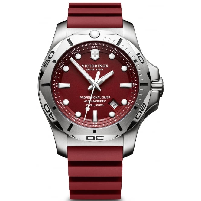 Victorinox 241736 Men's I.N.O.X Professional Diver Red Wristwatch