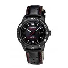 Wenger 01.0851.123 Men's Black Night Wristwatch