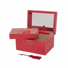 Wolf 213193 Palermo Small Jewellery Box Red