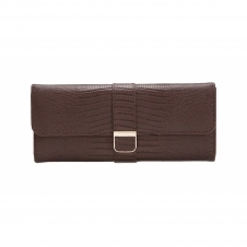 Wolf 213495 Palermo Jewellery Roll Brown