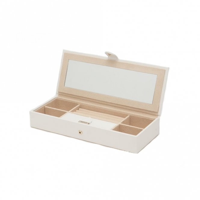 Wolf 308453 Marrakesh Safe Deposit Jewellery Case Cream